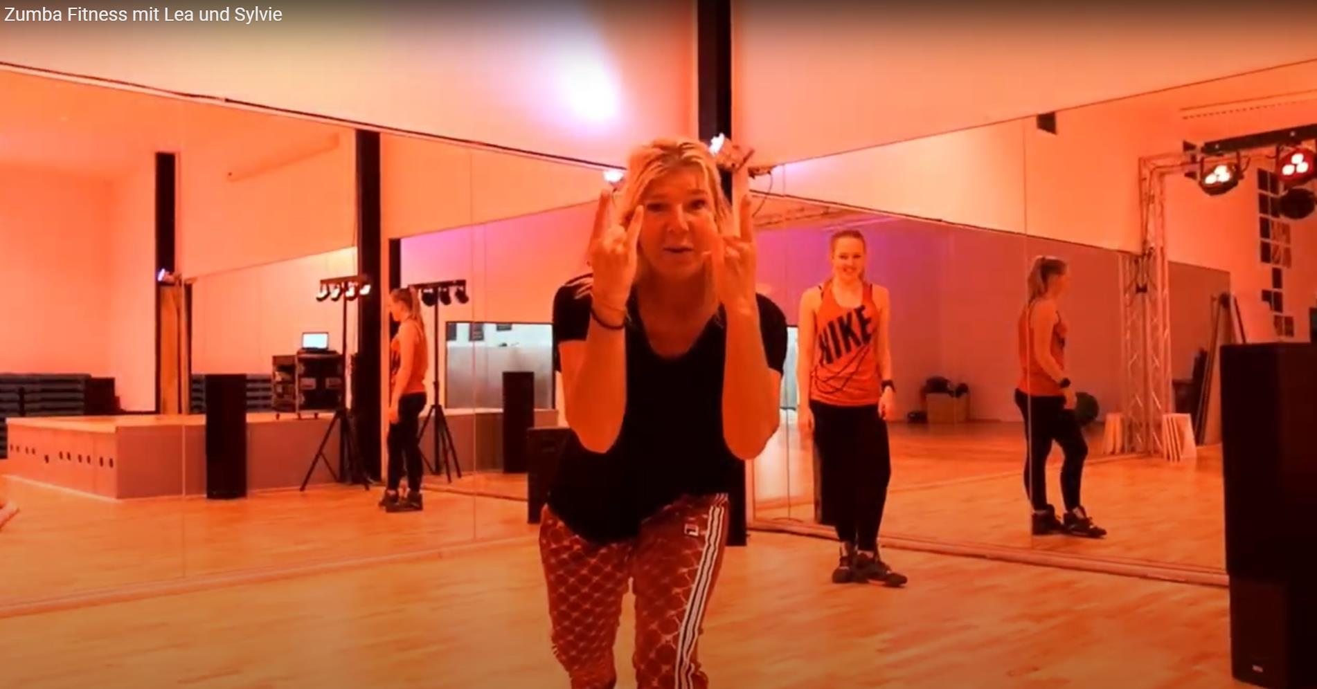 Sylvia Lea Zumba Fitness Video